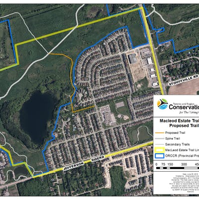 MacLeod Estate Proposed Trail Map (Conceptual Alignment)