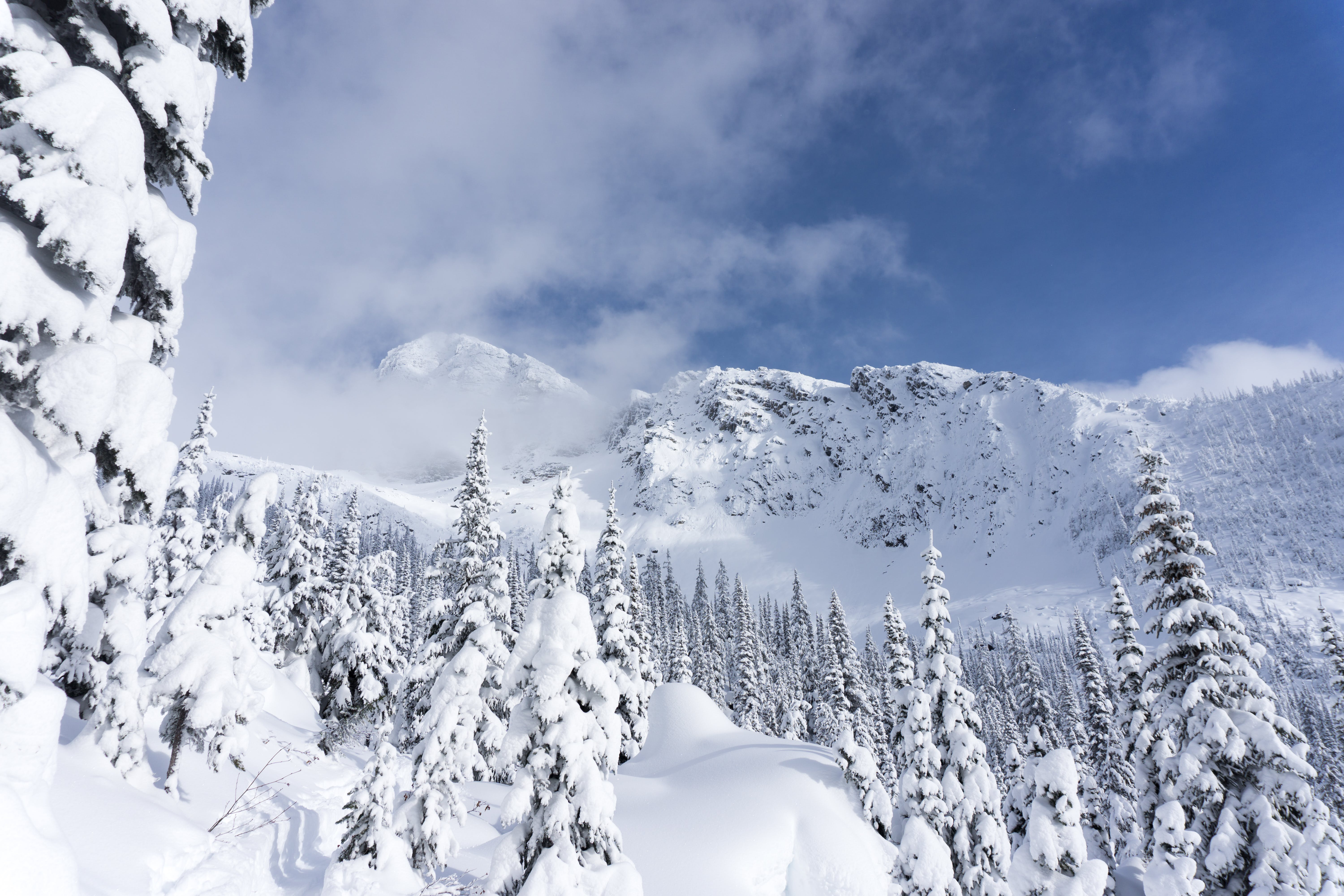 Avalanche Crest in winter
