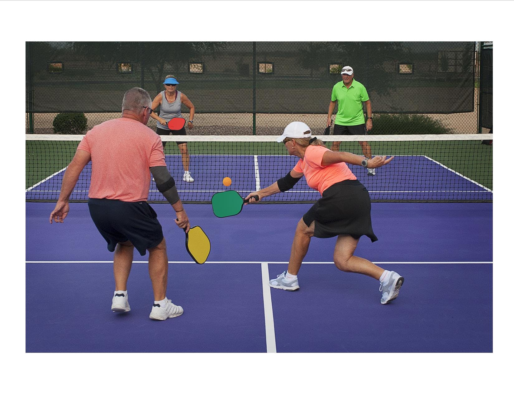 Seniors Pickleball