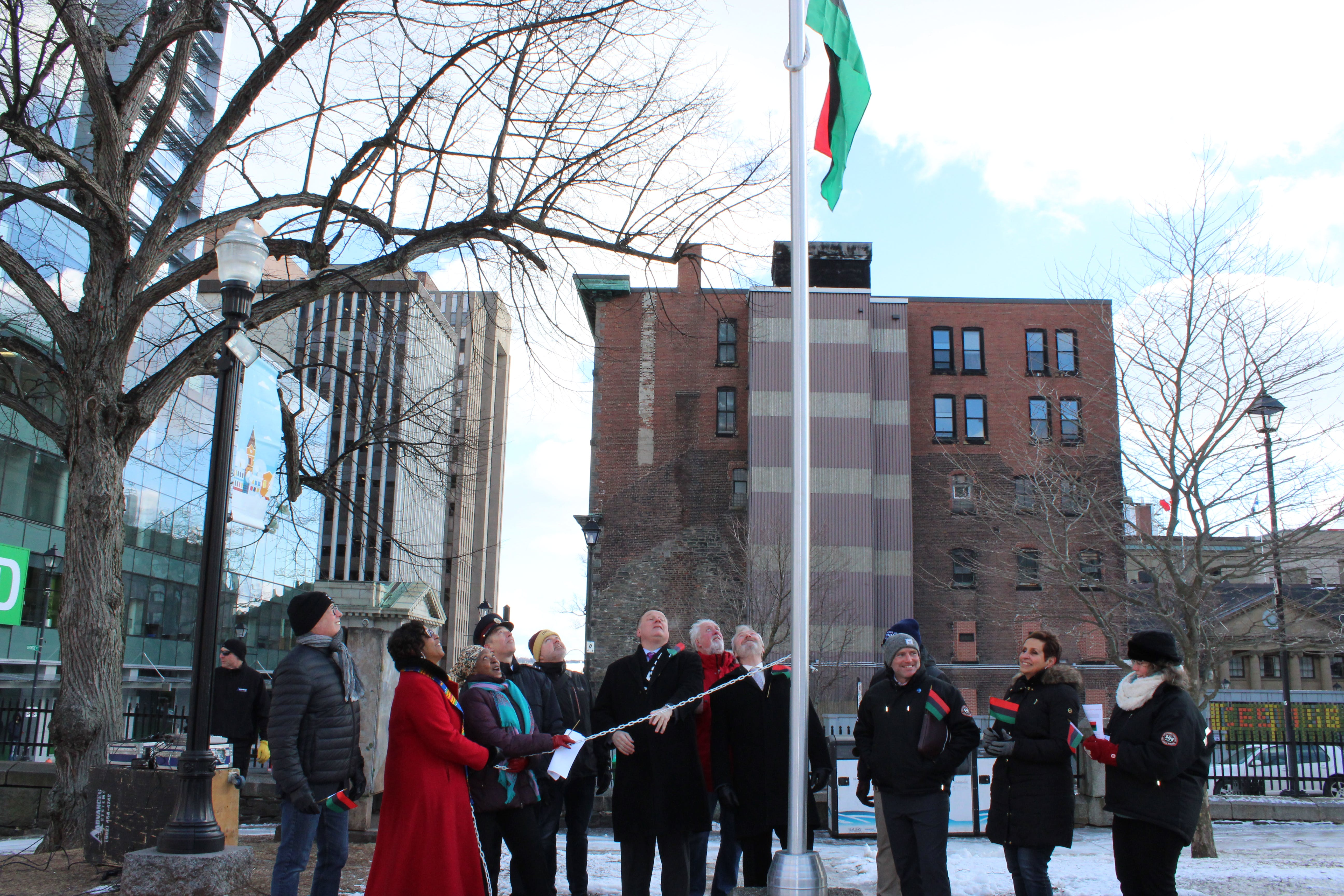 African Heritage Month 2019 – Inaugural Flag Raising Ceremony