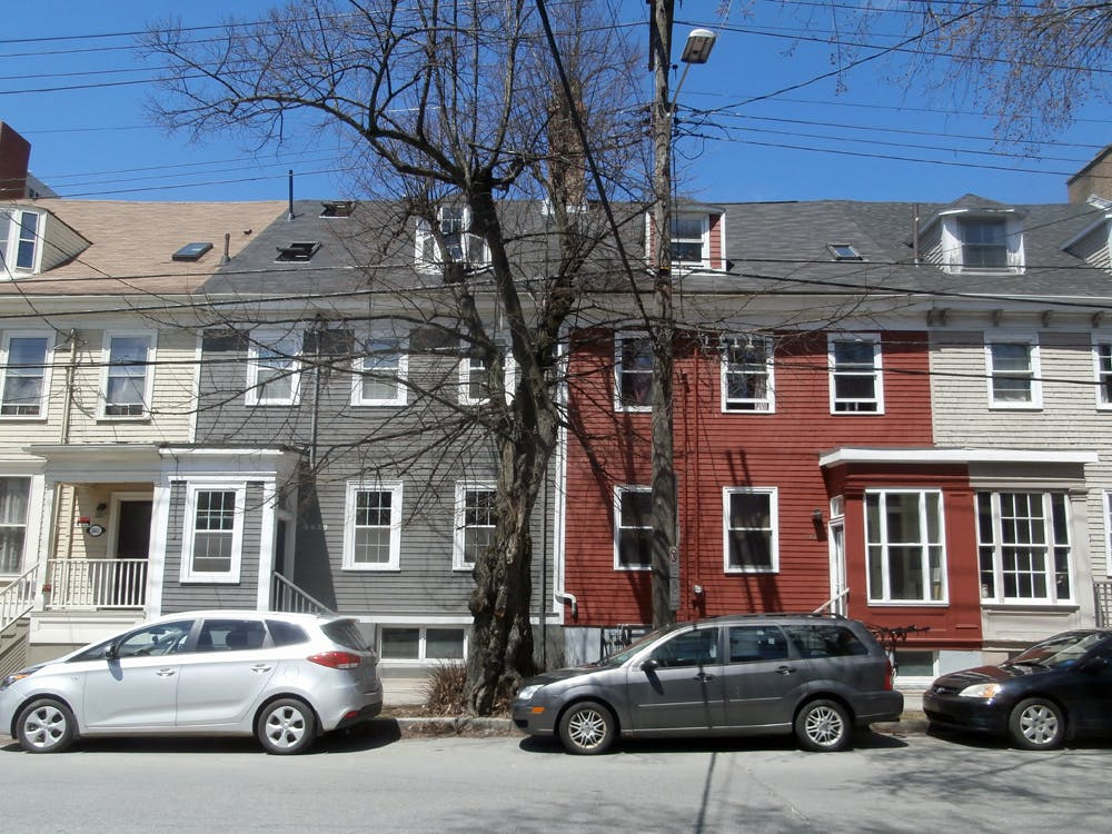 Georgian Architecture along Morris Street