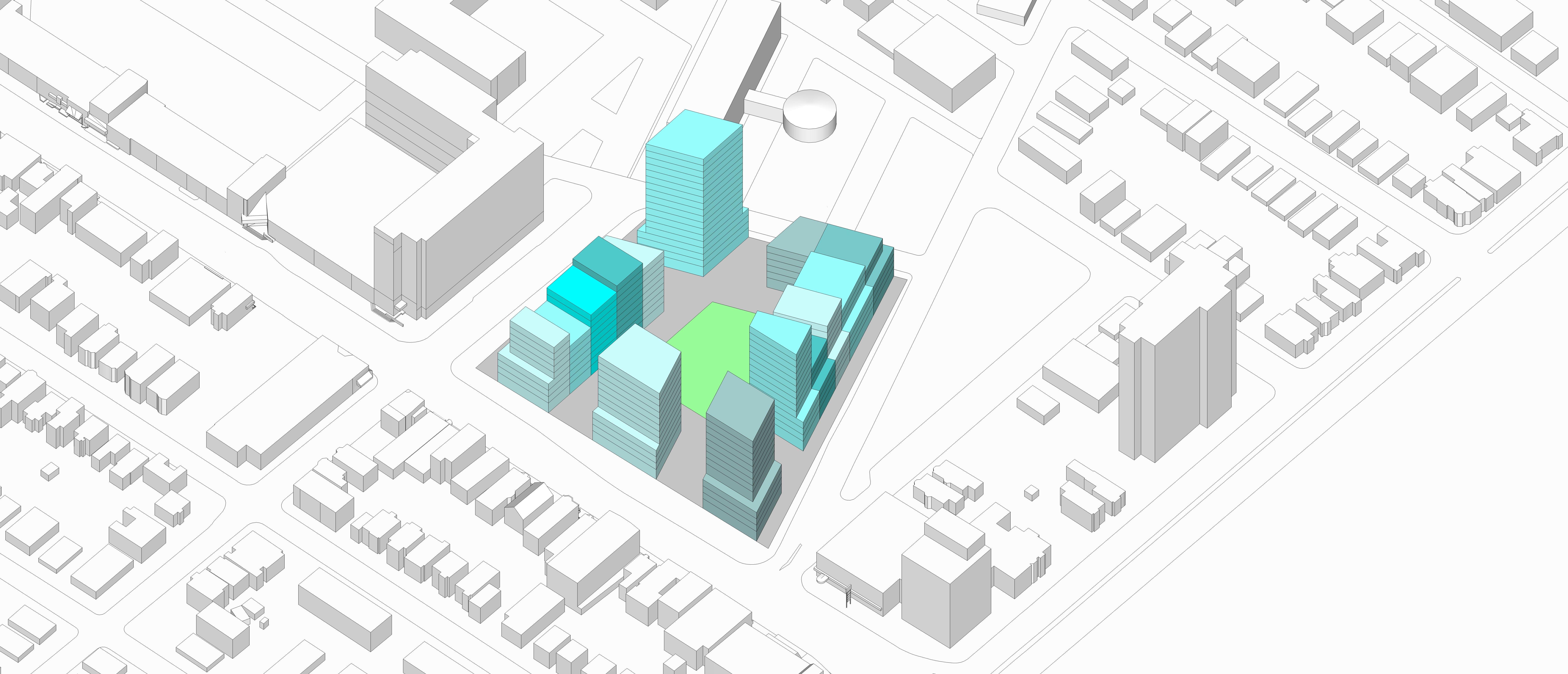 Creativity in Design - Multi-Family Buildings - example 1