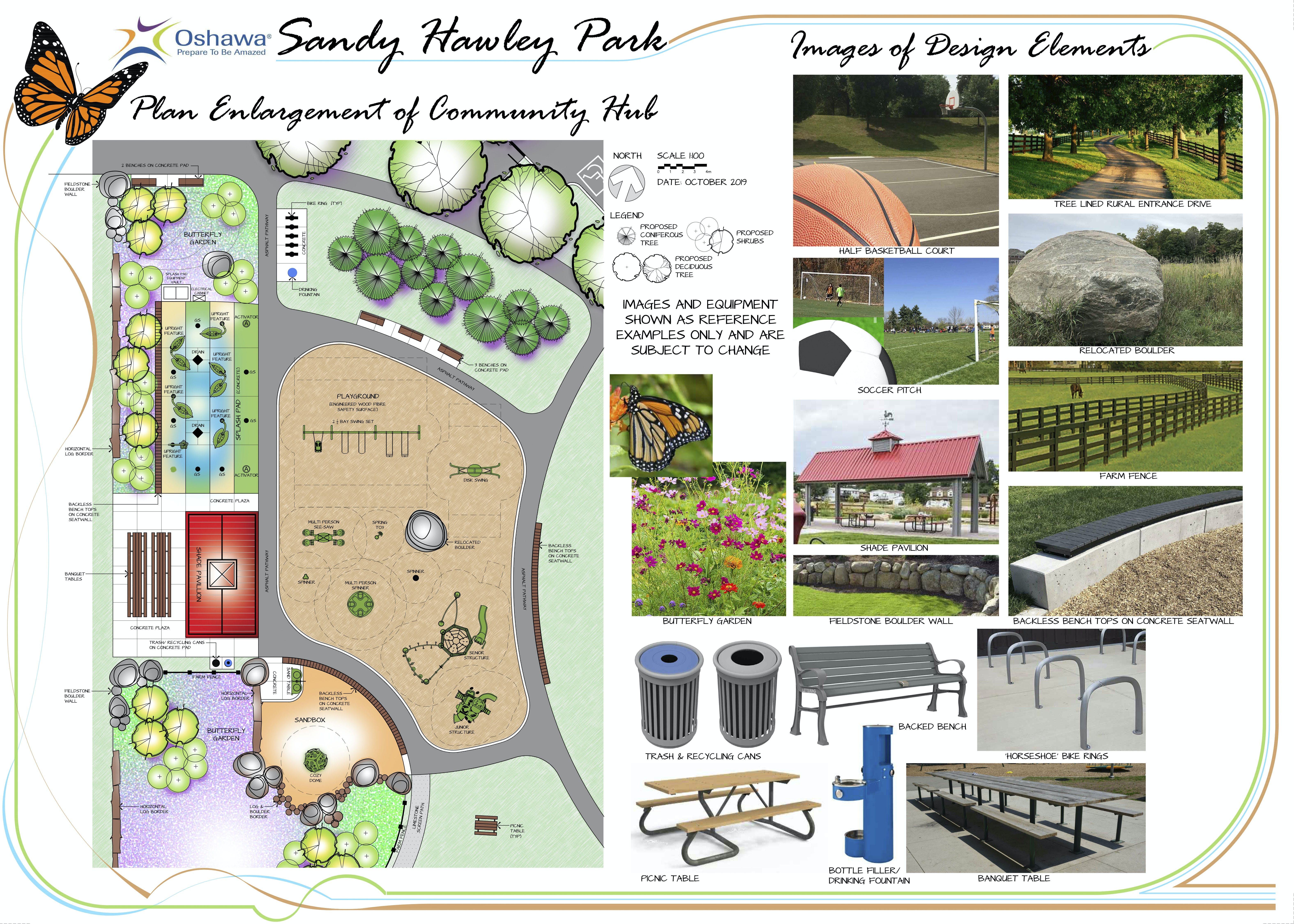 Sandy Hawley Park Plan Enlargement