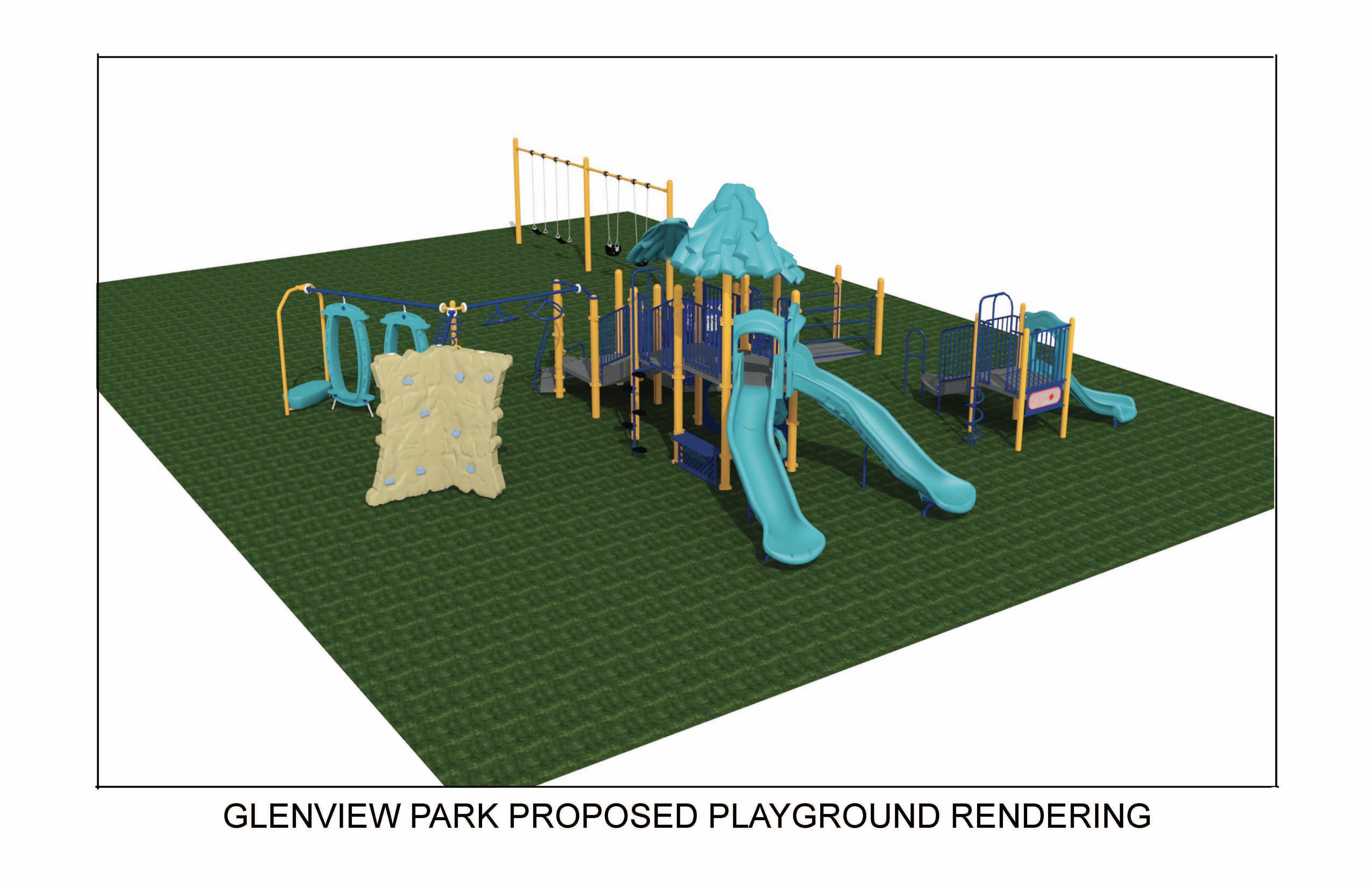 Glenview Park Rendering