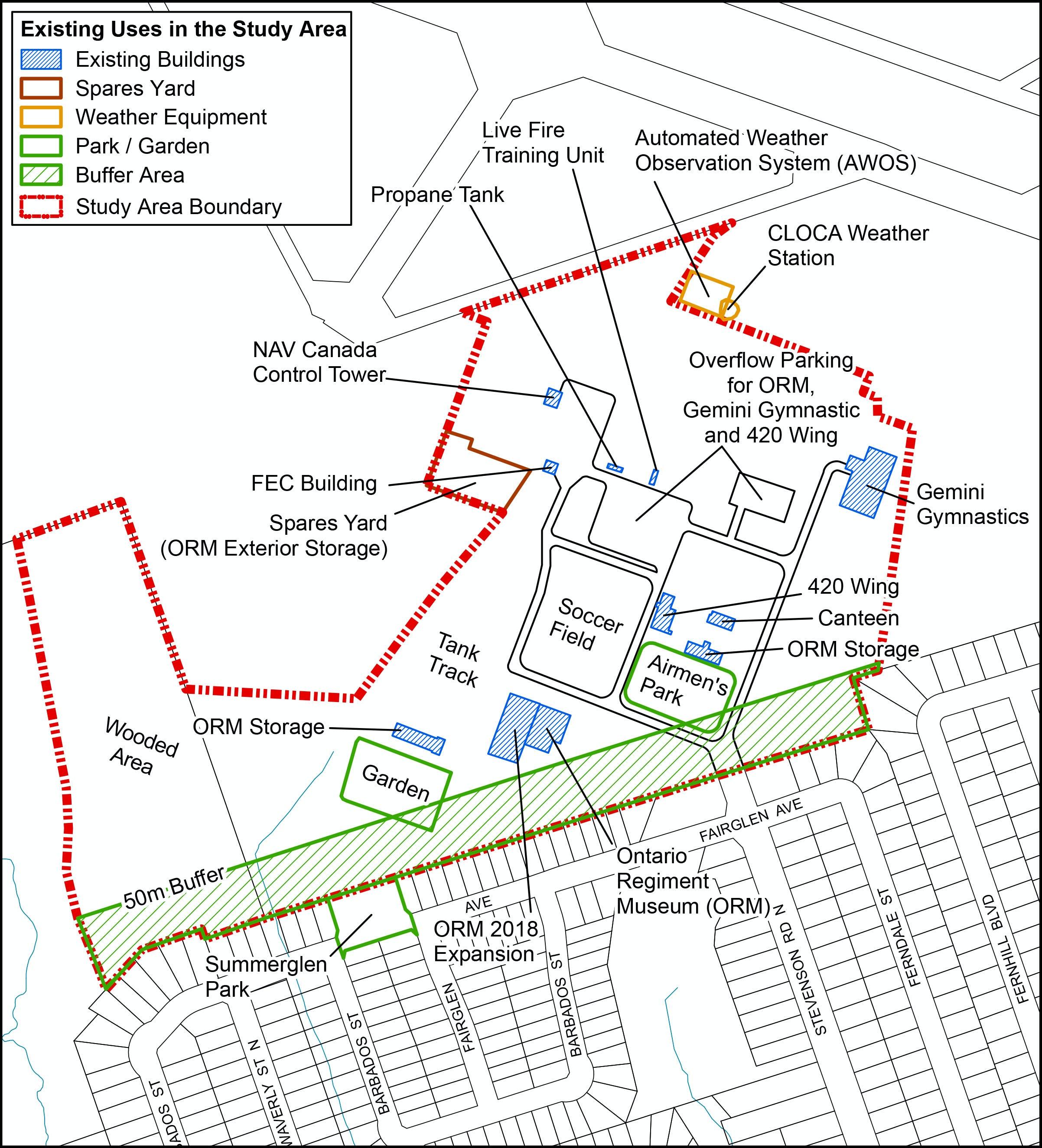 Draft preferred land use option