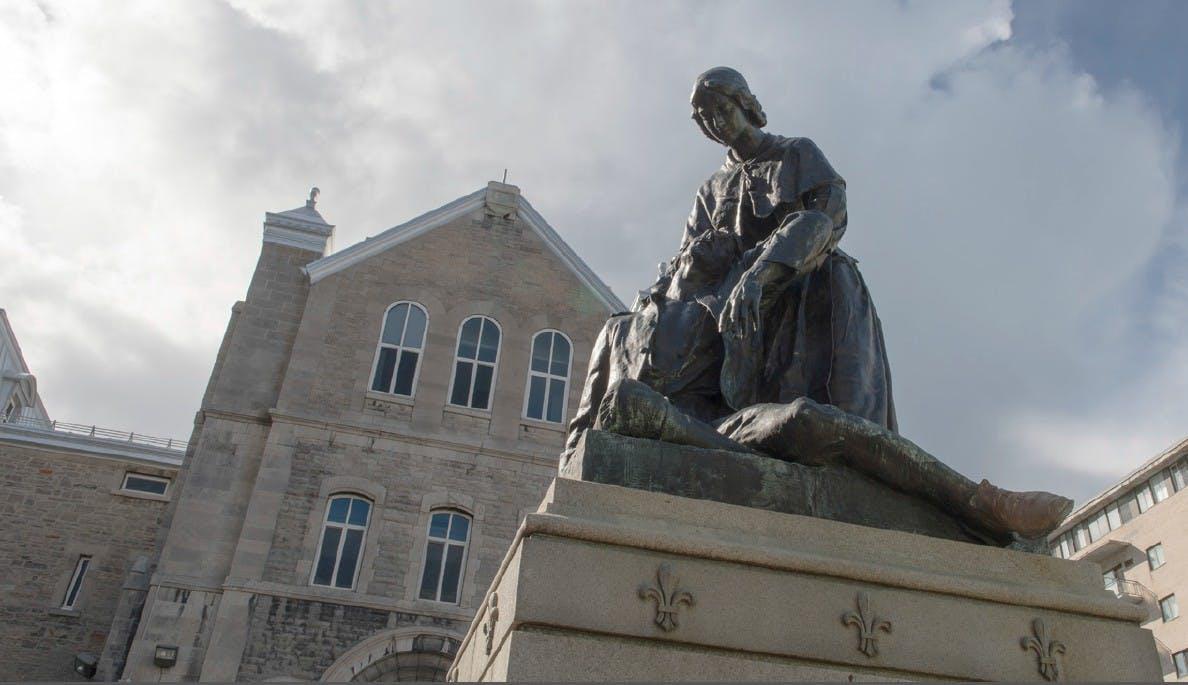 Monument de Jeanne Mance