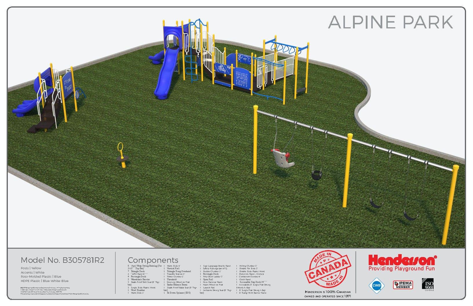 Alpine Park Playground