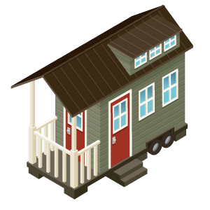 Tiny home illustration