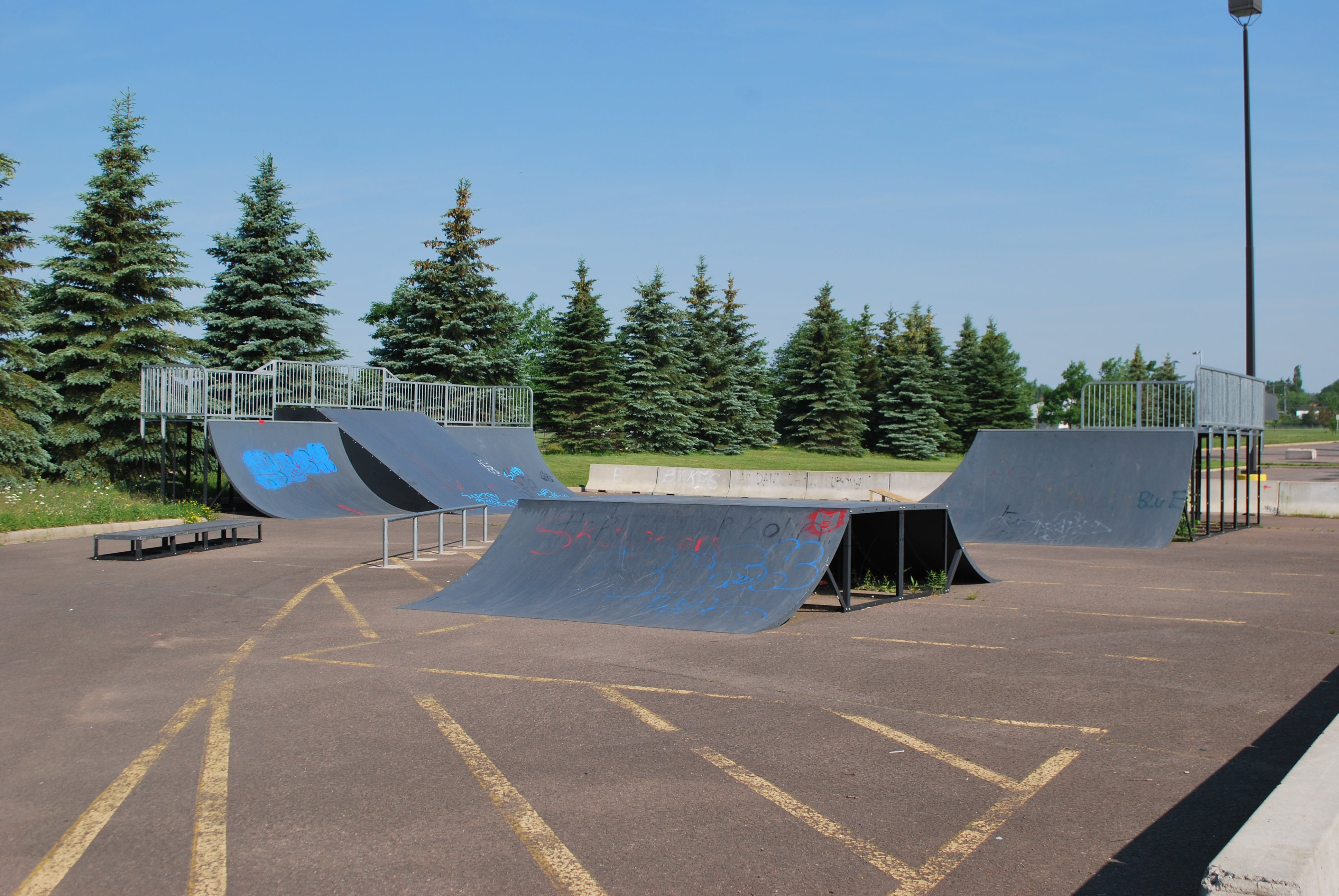 BMX park, CN Sportplex in Moncton