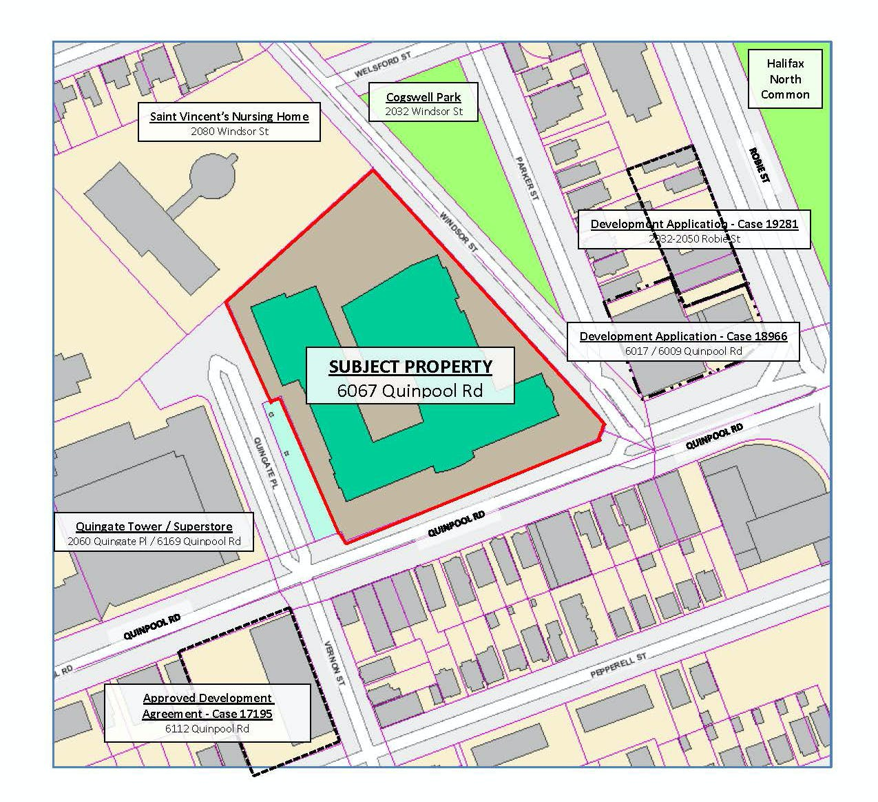 Map 6067 Quinpool Road Pdf
