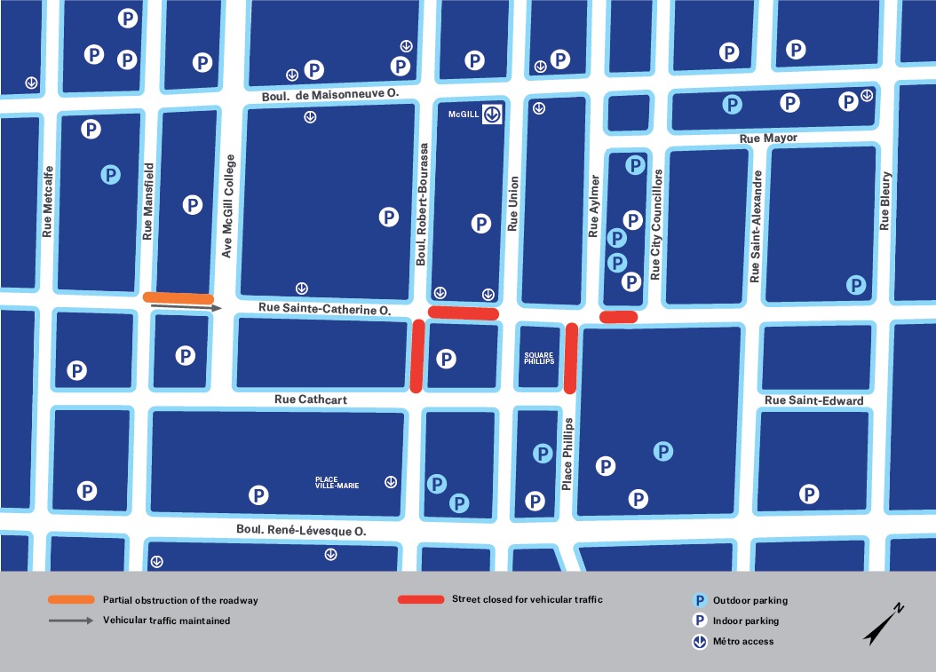 Map of work