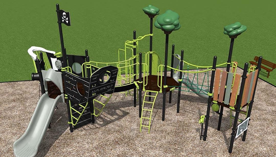 Hillcrest Playground Structure