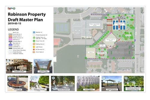 Robinson Property Draft Master Plan