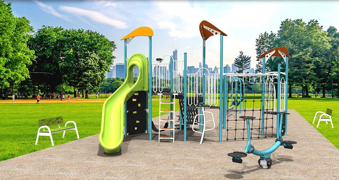 Howard Armstrong Recreation Centre Play Structure