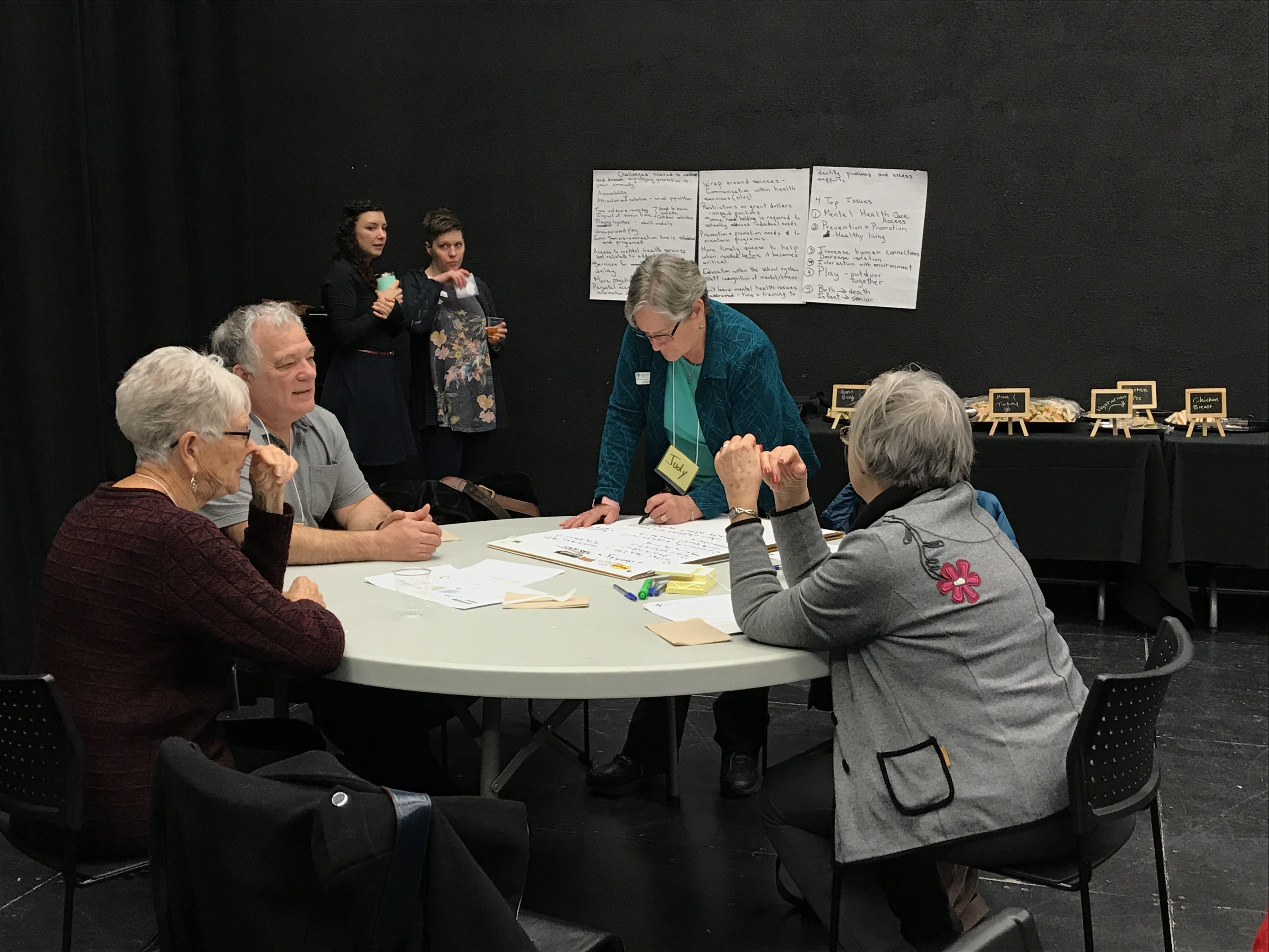 December 4, 2018: Grande Prairie Community Conversation session