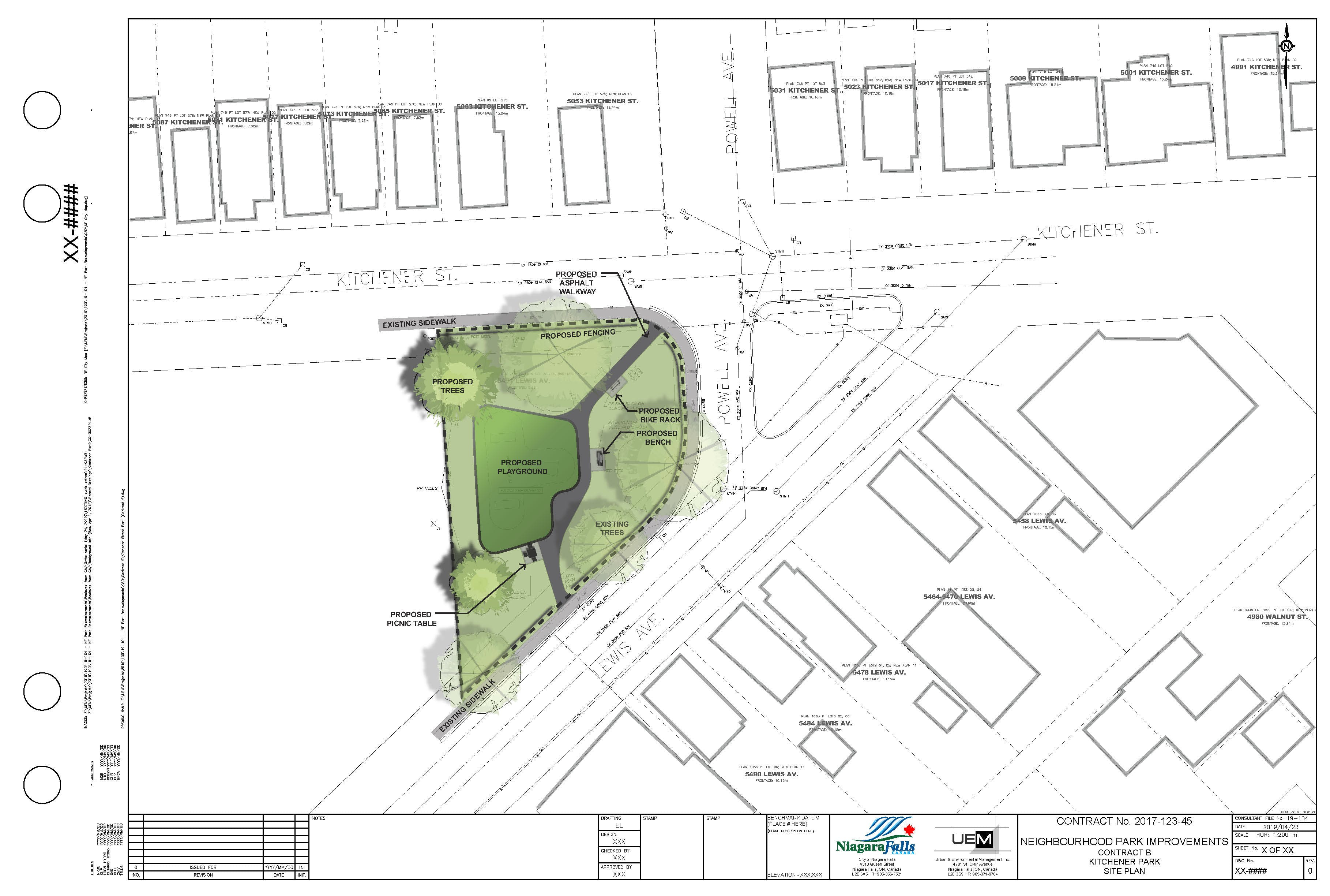 Kitchener Park Rendering