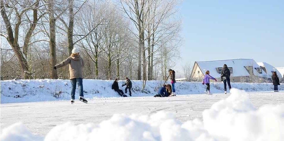 Natural Ice Skating Rink