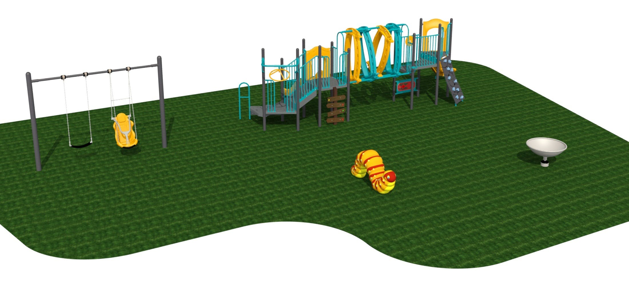 Alexander Park Playground Rendering