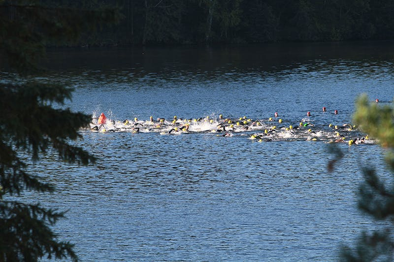 Ironman Swim Photo B
