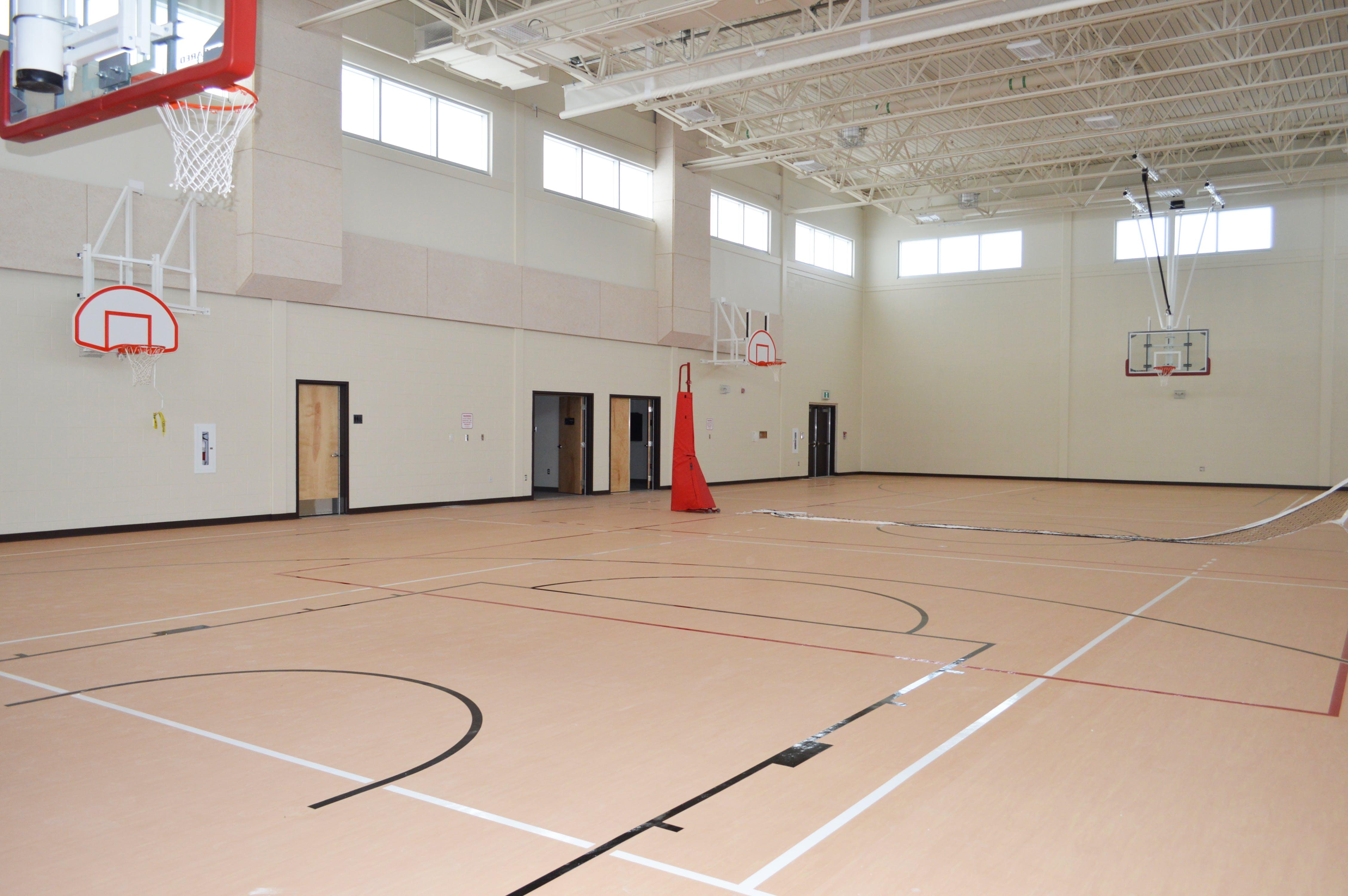 full sized gymnasium