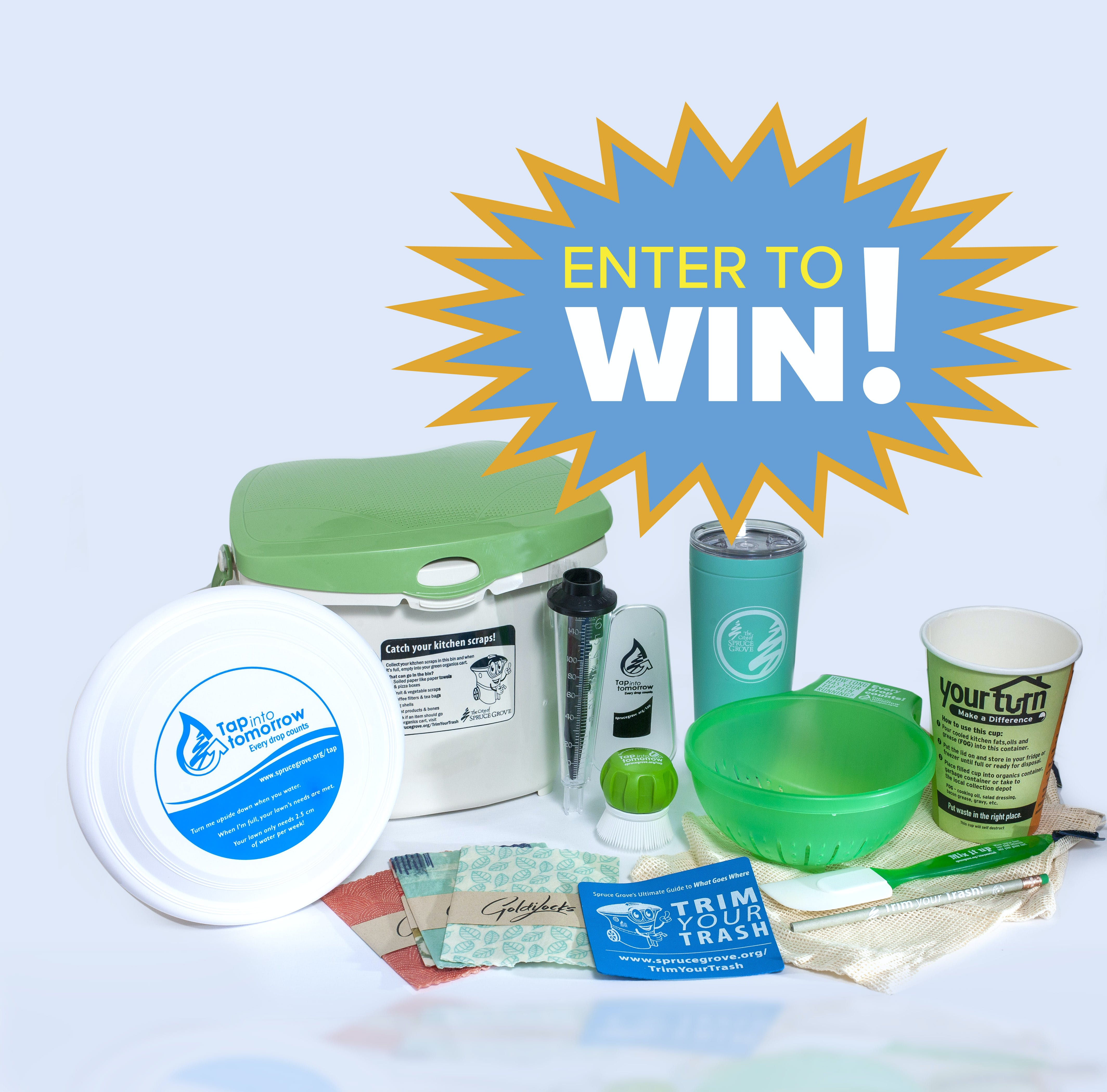 Enter to win this Spruce Grove prize pack!