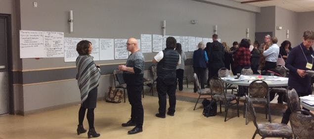 December 6, 2018: Hinton Community Conversation Session