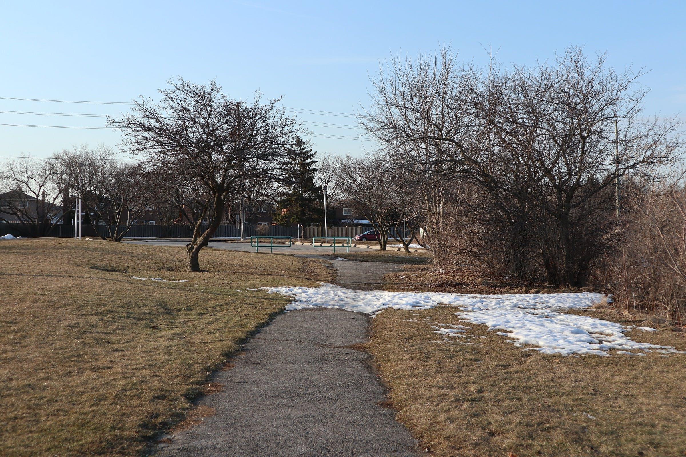Multi-Use Pathway east of Mount Joy Lake
