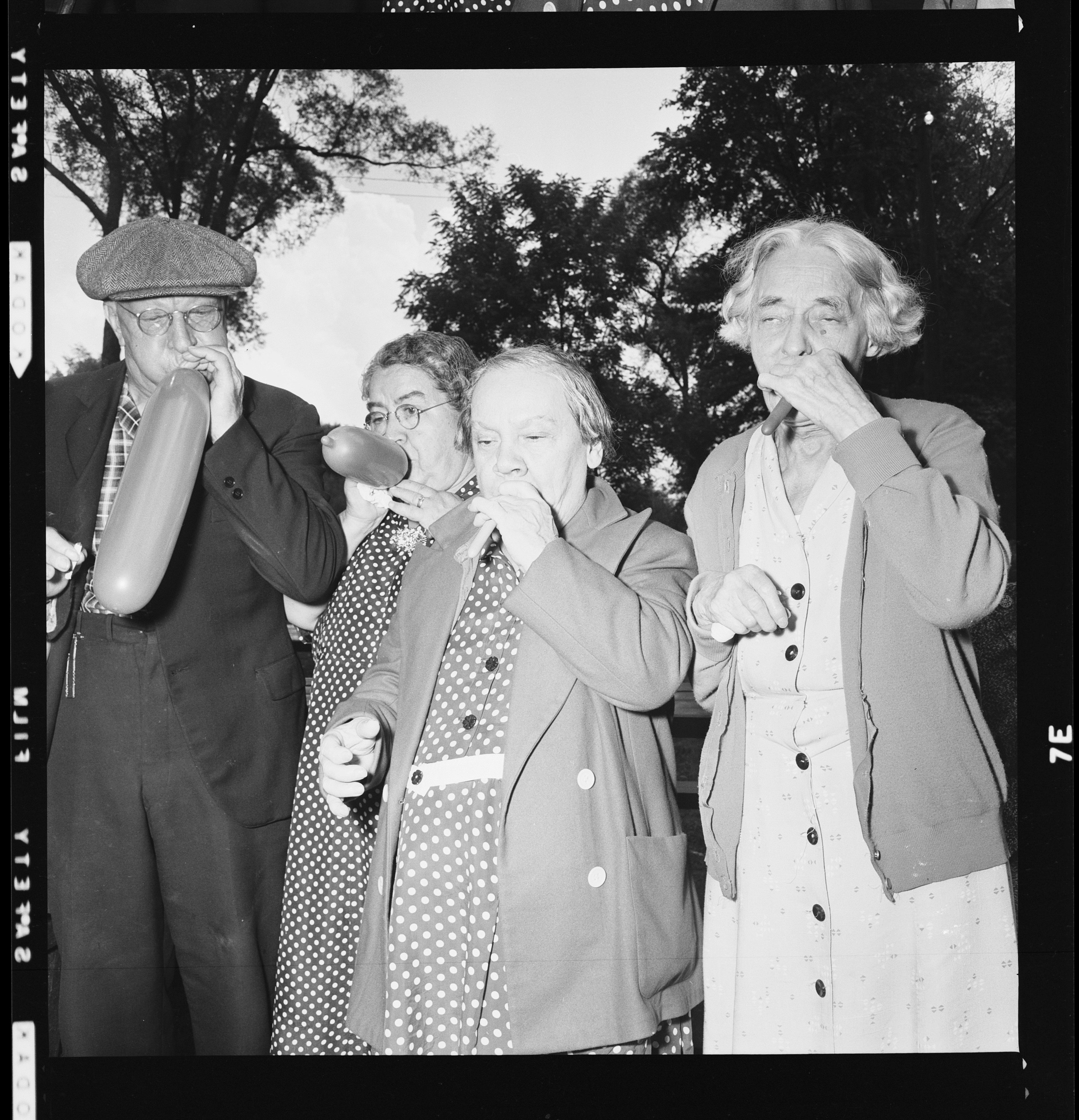 Residents at Sunnyside Home for the Aged -  1950s