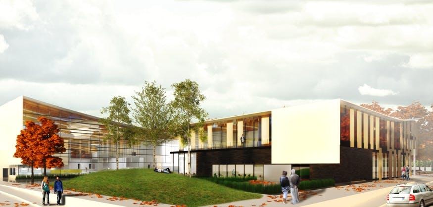 Minoru Complex rendering 2