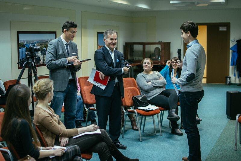 Formation du personnel parlementaire. Kiev, Ukraine