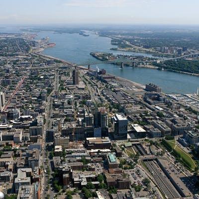 Photo aérienne du secteur - 2014