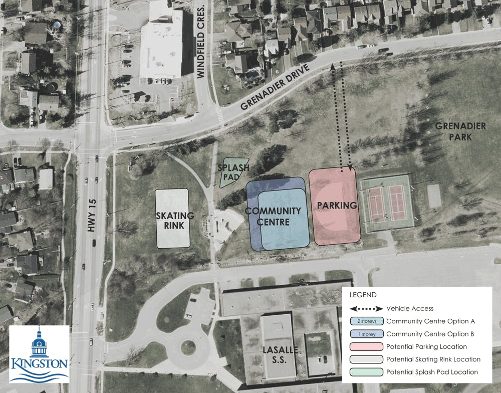 Proposed Site Layout B