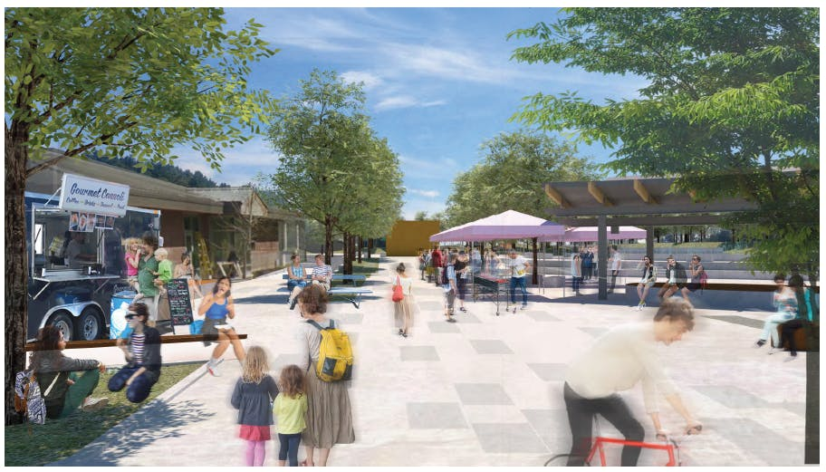 Town Square Architects Rendering
