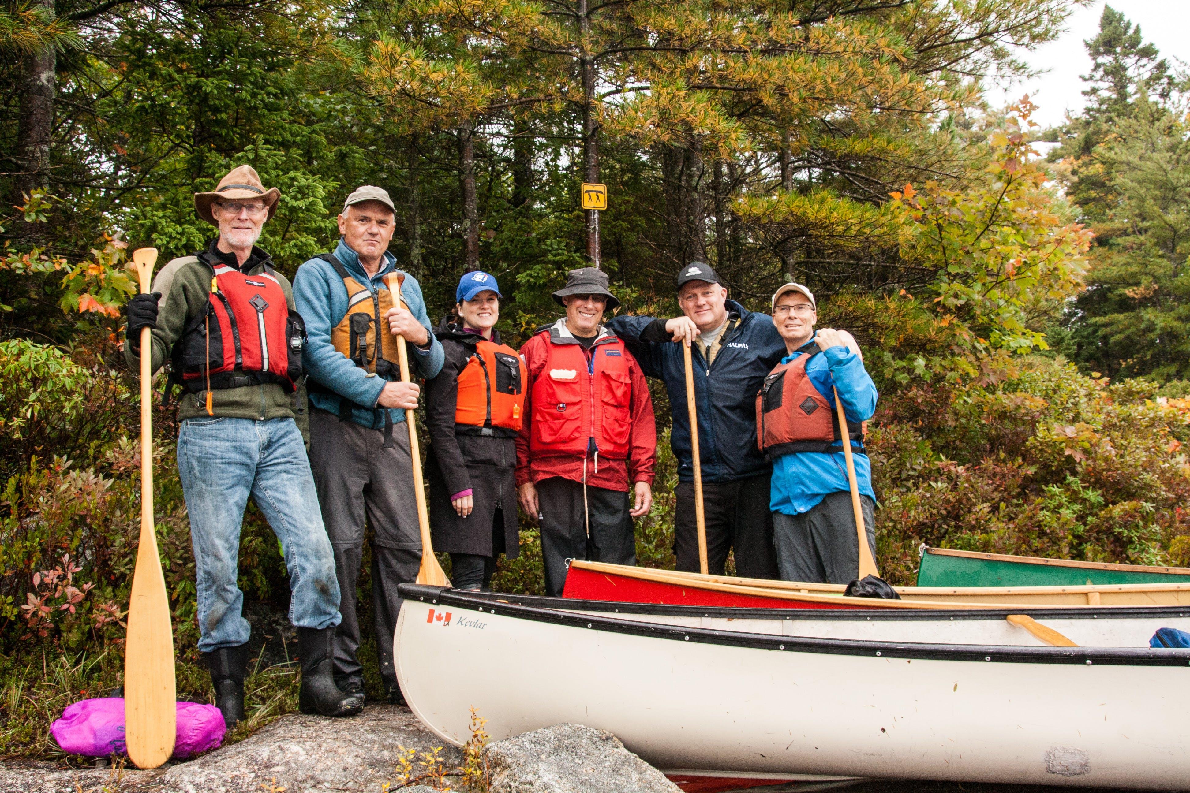 Blue Mountain Birch Cove canoe trip, October 2018