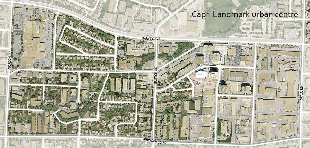 Capri Landmark Urban Centre Map   Web
