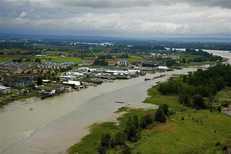Steveston Harbour Aerial