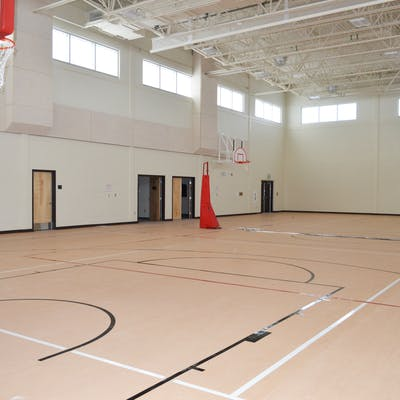 full sized gymnasium