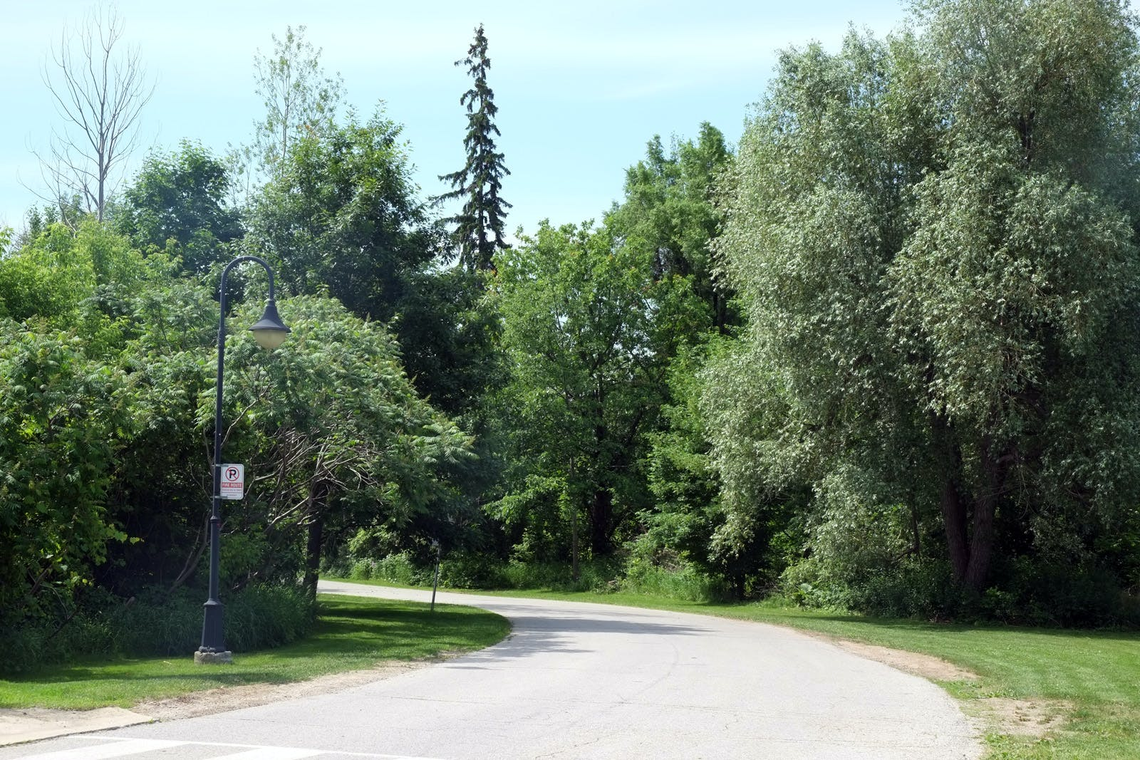Scenic views along Creditview Road