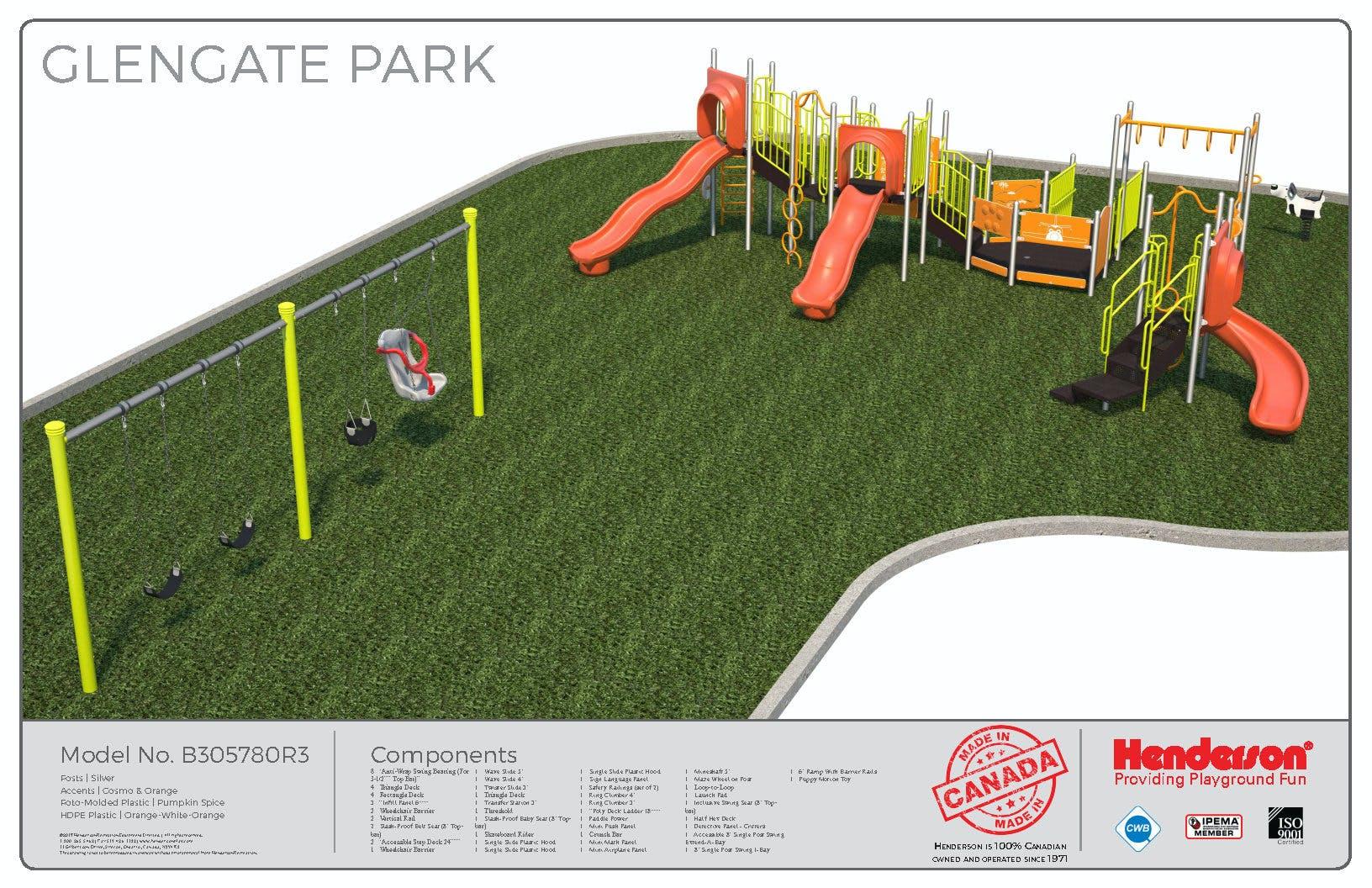 Glengate Park Rendering