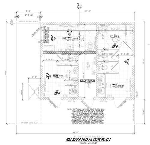 Point Clark Washroom Design