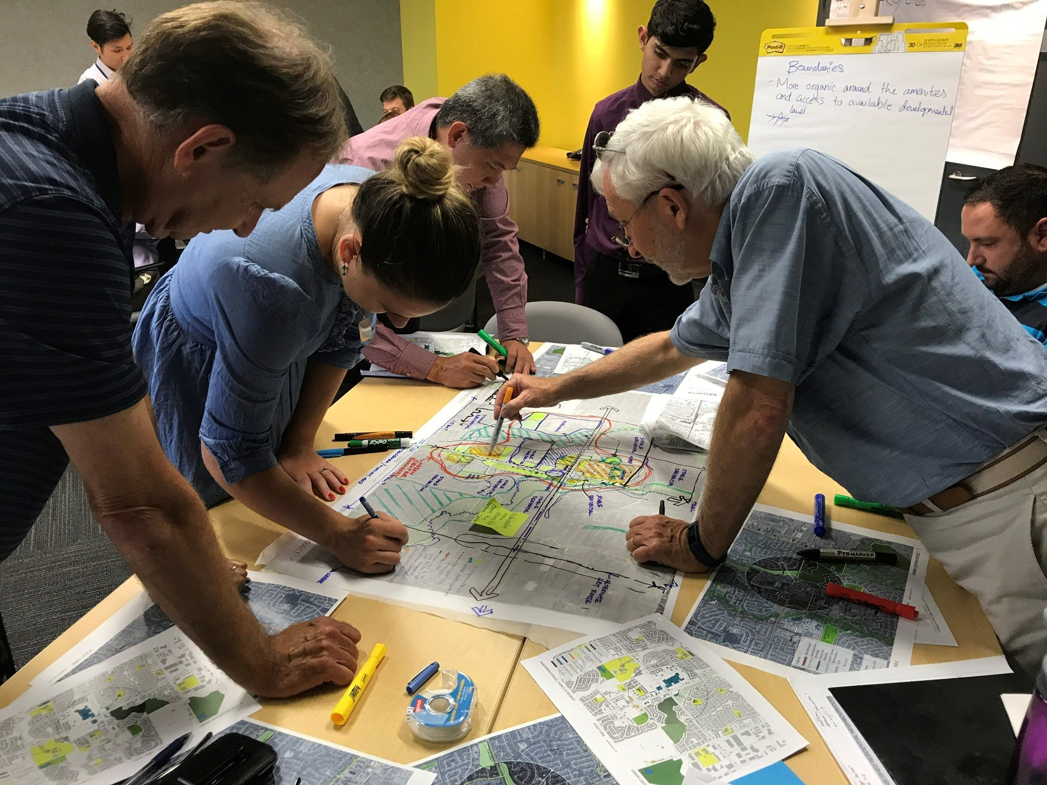 Mapping out ideas for our urban centres