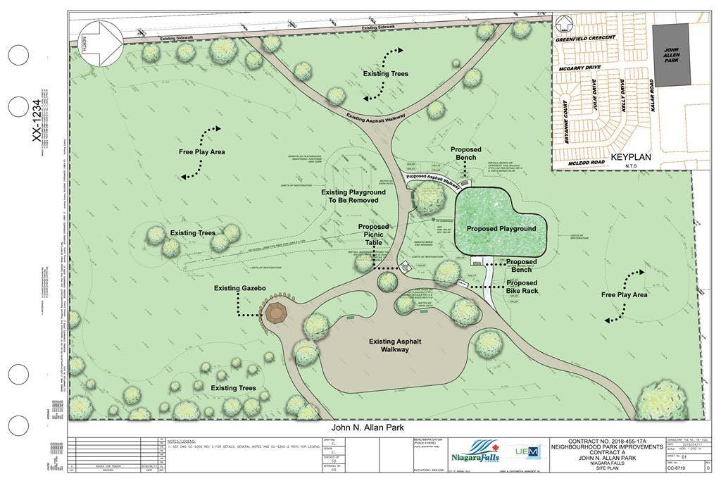John N Allan Concept Plan Rendered