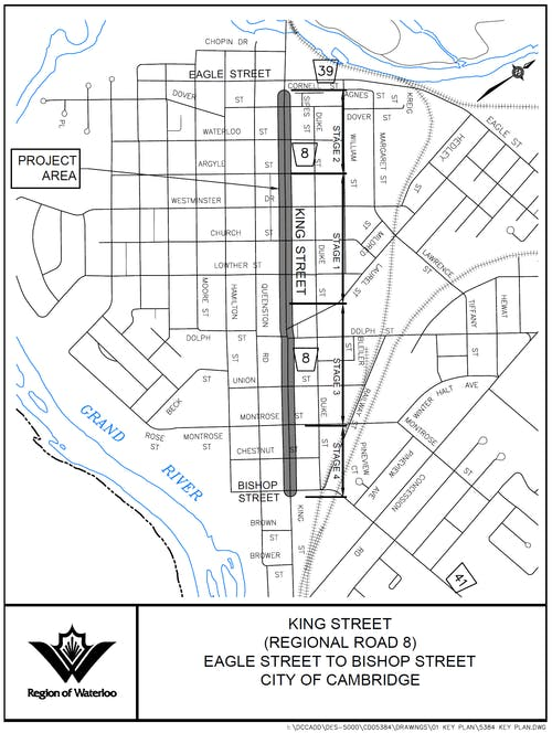 King St Key Plan - click to enlarge