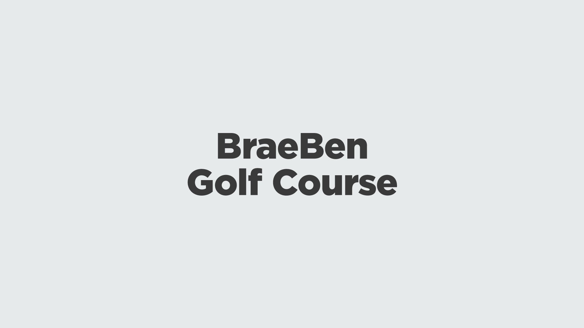 Brae Ben Golf Course