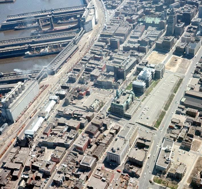Le quartier en 1962 - Ville de Montréal