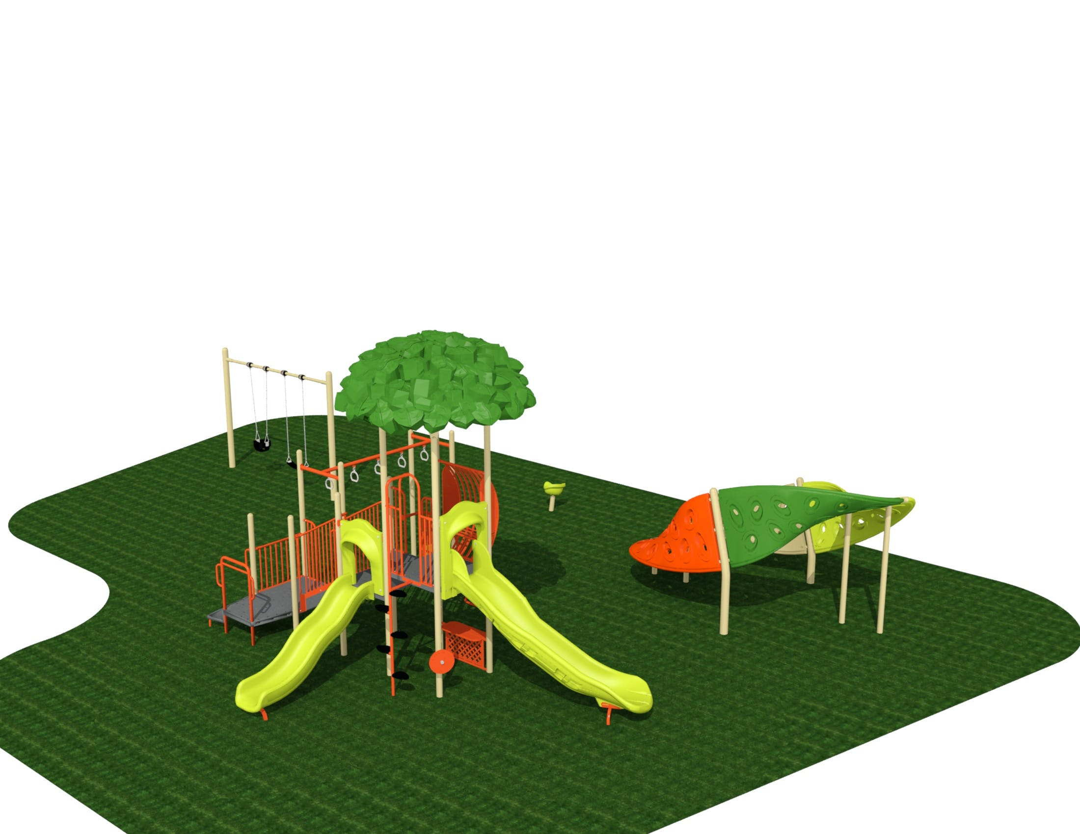 Kitchener Park Playground Rendering