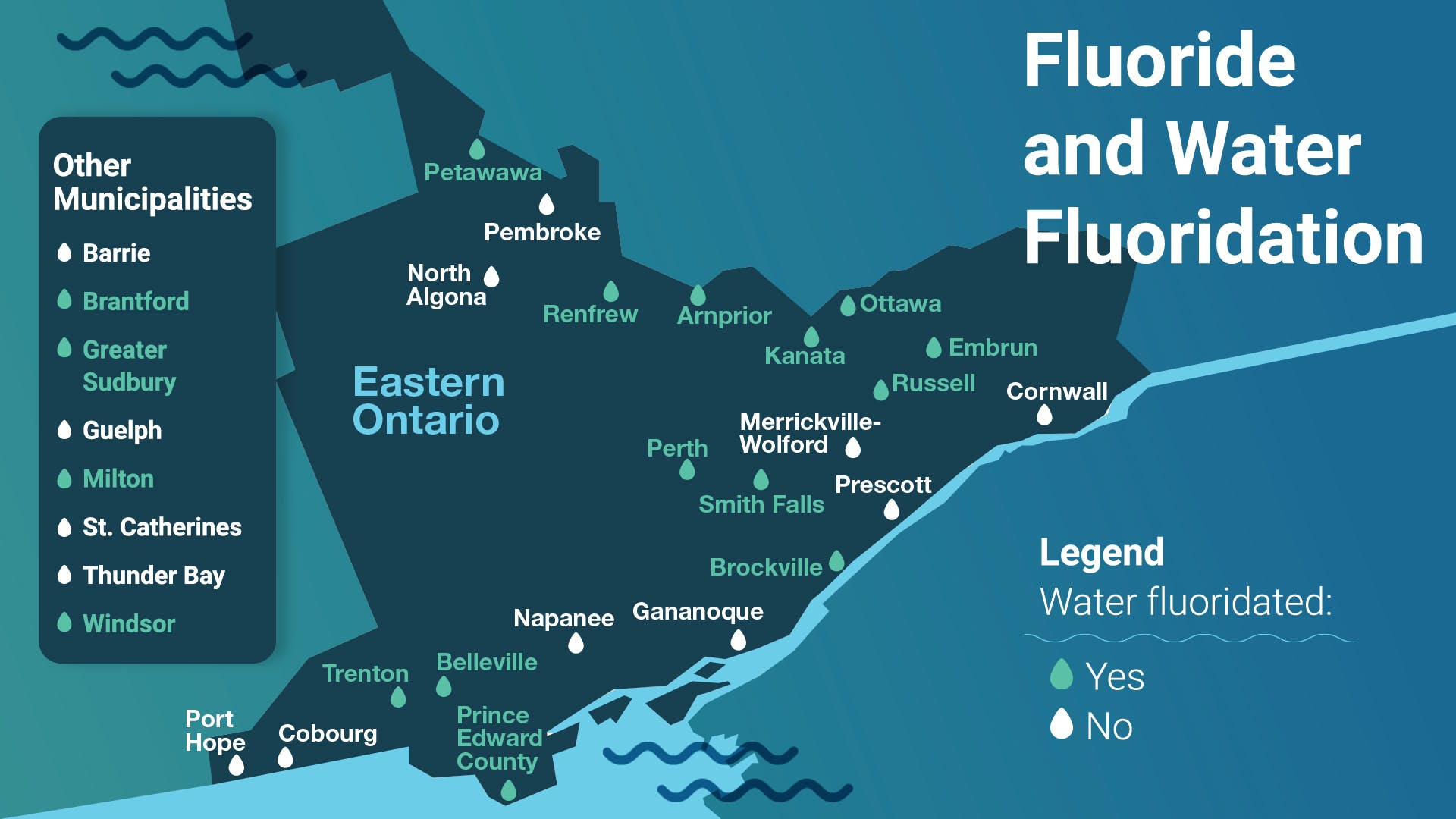 Map Water Fluoridation