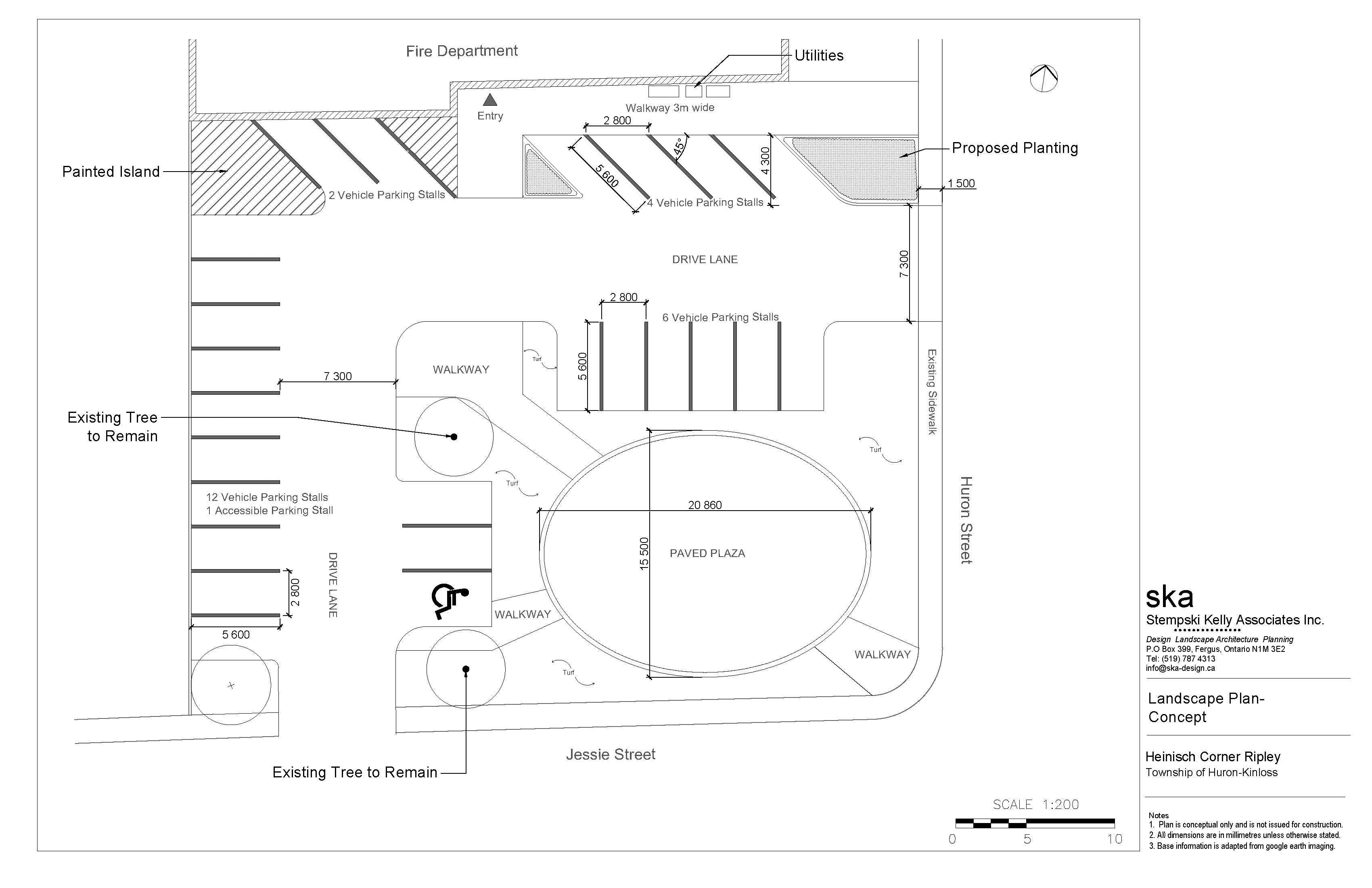 Ripley Outdoor Plaza Design