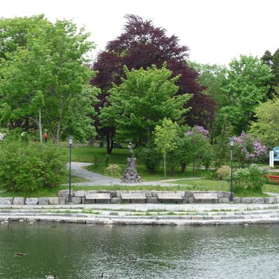 Peter Pan And Duck Pond Bowring Park Foundation Photo