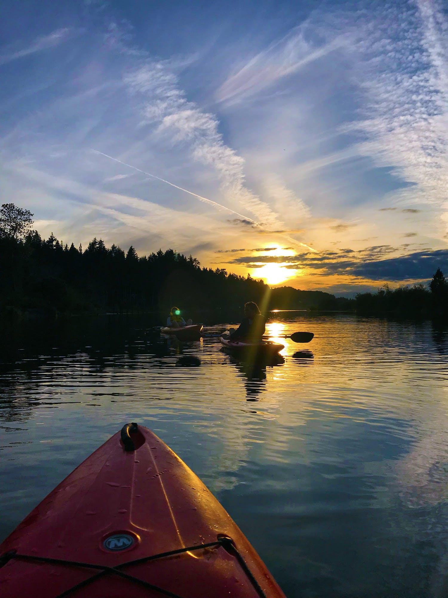 Kayaking In Nanaimo Estuary